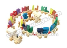 2012 Wooden Letter Car Educational Toys Cars for Children