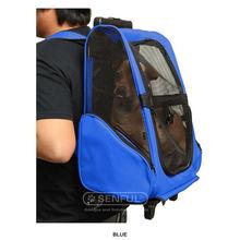 Backpack pet trolley, pet carrier, Wheel dog trolley