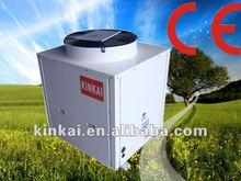 Economical Portable Heat Pump 12000~24000 btu Air to air water double Source Floor heating heater solar Heat Pump