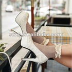 Ivroy Wedding Shoes Ivory Lace Bridal Shoes Lace Wedding Shoes XT12081503