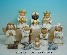 2012 Ceramic manger figurine