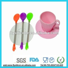 cupcake mold with saucer innovation design for bakeshop or home