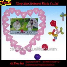 Wedding Balloons Wall Decor with Heart Shape Ballons