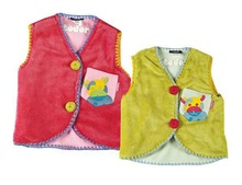 baby vest design with cute embroider baby clothes 92513