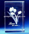 high quality custom design 3d laser crystal
