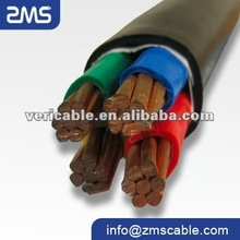 LV PVC insulated power cable