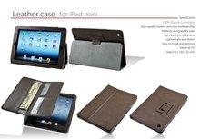 wallet folio PU Leather case for mini ipad