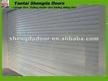 cheap automatic garage rolling door design