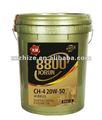 Super qualidade de óleo do motor Diesel CH-4 20W-50 para Yutong e Kinglong e ônibus Higer