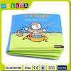 waterproof plastic EVA PVC educational baby bath book