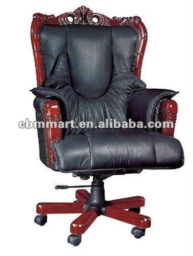 Cadeiras executivas de luxo acolchoada braço cadeira de escritório cadeira do escritório executivo