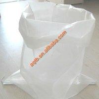 transparent non printing pp woven rice packing sack bag