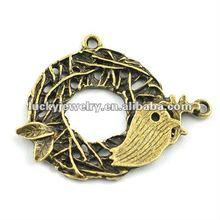 bird cage pendant jewelry pendant
