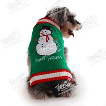 New Year sweater for pets/ dog clothing