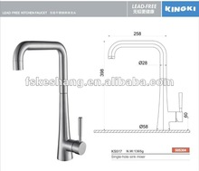 High-grade stainless steel faucet