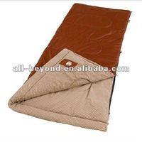 Brown travel waterproof nylon sleeping bag (RSA1204)