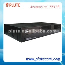 2012 New Stock of Azamerica S810B With USB PVR For Chile Satellite Decoder