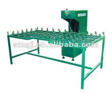 Insulating glass edger machine