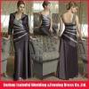 2012 new design elegant imported satin straight informal mother of the bride dresses