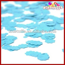 Wholesale Blue Flower Tissue Paper Confetti For Party