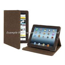 Fancy folder leather case for ipad 2