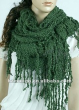 Latest fashion 2012 lady winter big size Knitted Wrap Shawls
