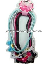 flat elastic bungee hair band