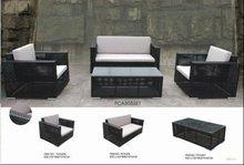 2012 PE Rattan Outdoor Furniture Sofa Set