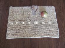 anti skidding microfiber bath mat