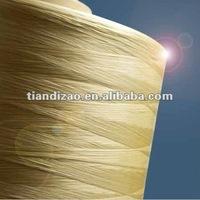 Meta-aramid flame retardant colored yarn