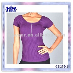 2012 new fashion Sexy nylon spandex lady's seamless tank top