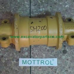 SH200 Track Roller KRA1189 KRA1190 SH200 Bottom Roller, Mottrol Excavator Part