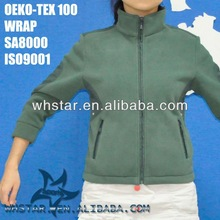 Girls ourdoor wear patch on shoulder and elbow
