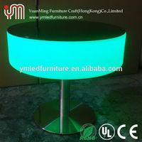 werzalit table top/bar led furniture