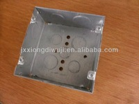 "4""Squaretin-based box,Welding outlet electrical box; Box knockout,Junction box;"
