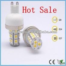 2012 Hot Sale!SMD5050 G9/E14/E27 2w 3w 3.5w 4w G9 led light