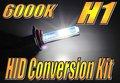 h1 hid kit de conversión de solo haz haz bajo los faros del coche