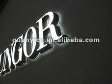 2014 New led acrylic backlit letter sign