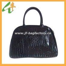 new design crocodile leather fashion handbag