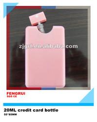 15ml 20ml square plastic spray bottle