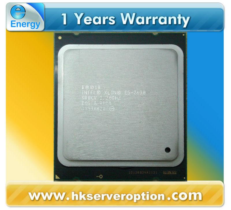 E5-2630 Xeon Processor 15M Cache, 2.30 GHz, 7.20 GT/s QPI
