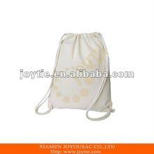 Echo Cotton blank drawstring bag shoes bag