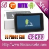latest tablet pc reviews 7 inch tablet with 2G/3G phone call/GPS/wifi/bluetooth cortex a9