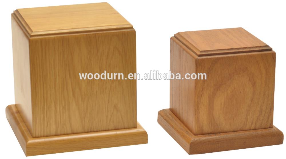 Pet Cremation Urns Wood Oak Wood Pet Cremation Urn View Pet Cremation Urn Makey Urns Product