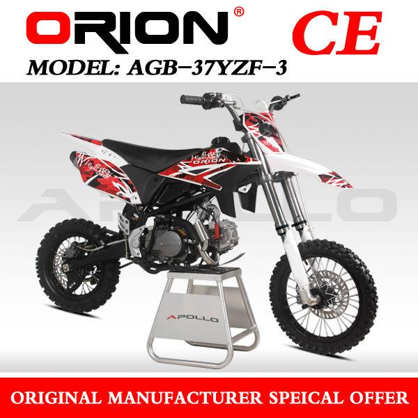 China Apollo Orion hot Sale Professinal Racing 150cc dirt bike 150cc pit bike mini Cross AGB37-3 YZF