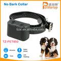 Entrenamiento del perro de TZ-PET850 Anti collar de la corteza impermeable y recargable