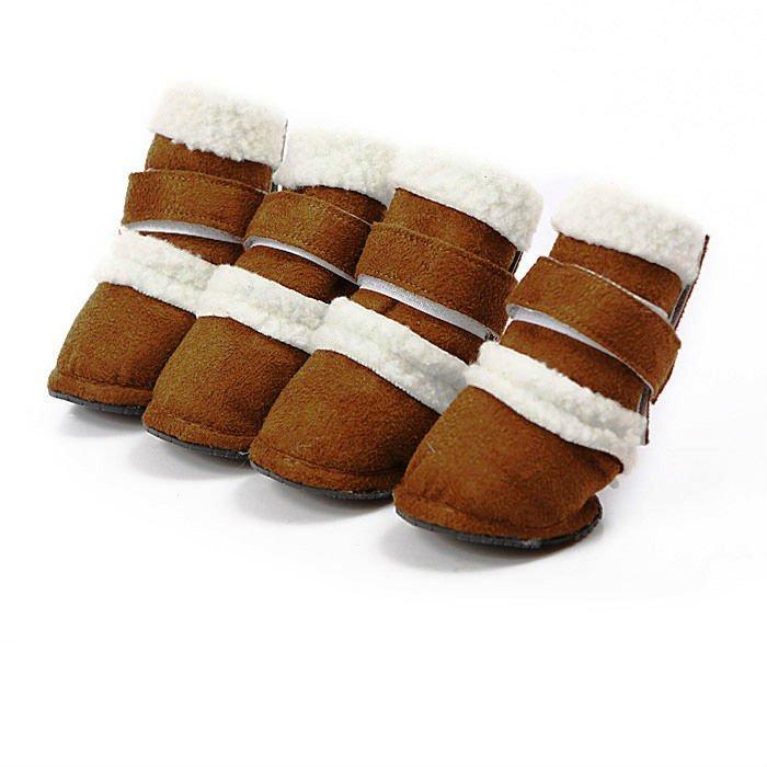 Russia fur boots/pet accessory/dog accessory
