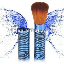 2012 Fashion Retractable Powder Brush In Blue Tube