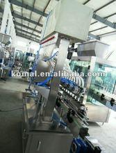 automatic female cleanser filling machine