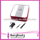New design BIO home use beauty facial equipment 2012 mini home use 1Mhz frequency ultrasonic skin care 4w solution
